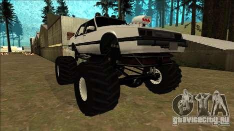 Willard Monster для GTA San Andreas