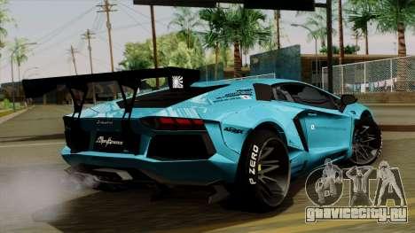 Lamborghini Aventador LB Performance для GTA San Andreas вид слева