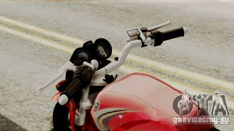 Yamaha YBR Imitacion для GTA San Andreas вид справа