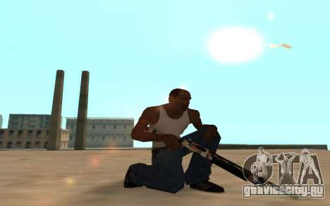 Asiimov Weapon Pack v2 для GTA San Andreas шестой скриншот