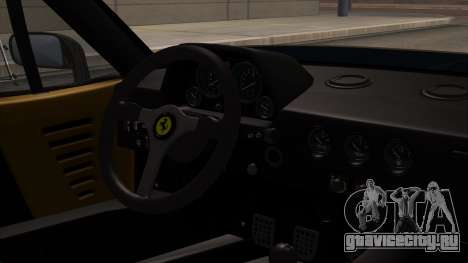 Ferrari F40 1987 HQLM для GTA San Andreas вид справа