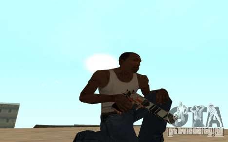 Asiimov Weapon Pack v2 для GTA San Andreas четвёртый скриншот