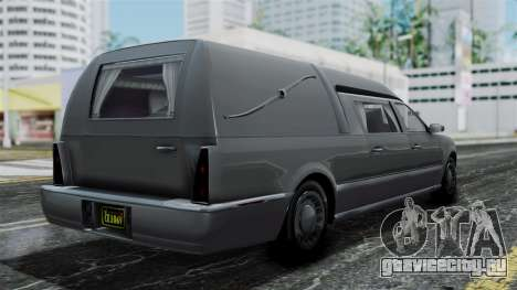 GTA 5 Albany Romero IVF для GTA San Andreas вид слева