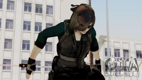 Christy Battle Suit (Resident Evil) для GTA San Andreas