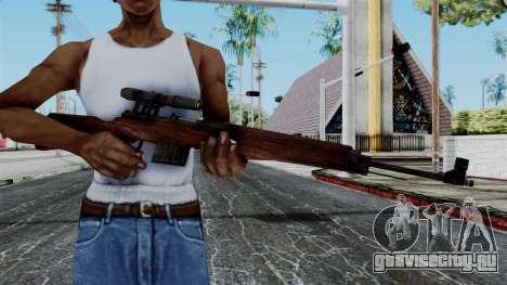 Gewehr 43 ZF from Battlefield 1942 для GTA San Andreas третий скриншот