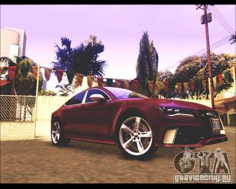 REXAS ENB v1 для GTA San Andreas