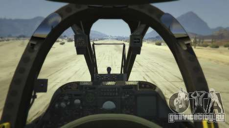 A-10A Thunderbolt II 1.1 для GTA 5 второй скриншот