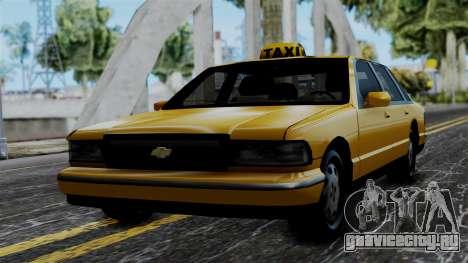 Taxi Casual v1.0 для GTA San Andreas