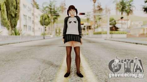 DOA 5 LeiFang Panda T-shirt для GTA San Andreas второй скриншот