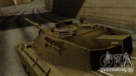 Leopard 1A5 для GTA San Andreas вид справа