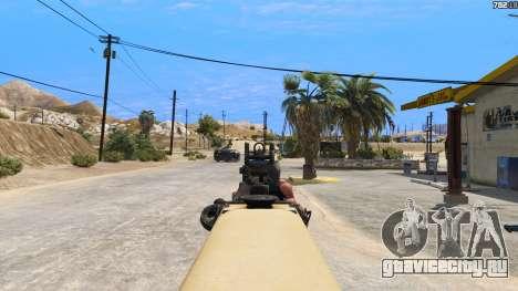 TAR-21 из Battlefield 4 для GTA 5 шестой скриншот