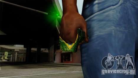 Brasileiro Thermal Goggles v2 для GTA San Andreas третий скриншот