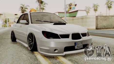 Subaru Impreza WRX STI HQ для GTA San Andreas