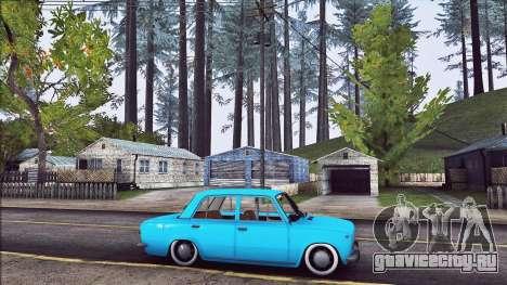 Ваз 2101 Resto для GTA San Andreas вид слева