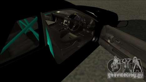 Nissan Skyline R32 Drift Monster Energy для GTA San Andreas вид сзади слева