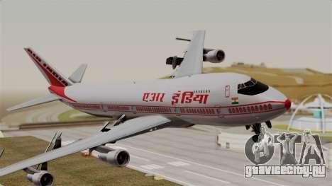 Boeing 747-200 Air India VT-ECG для GTA San Andreas