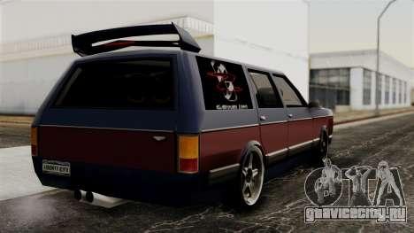 New Regina Extreme для GTA San Andreas вид слева