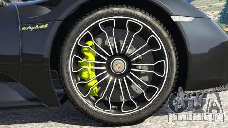 Porsche 918 Spyder 2014 [HD] для GTA 5