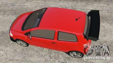 Volkswagen Fox v1.1 для GTA 5 вид сзади