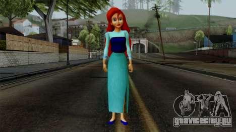 Ariel (Human Version) для GTA San Andreas второй скриншот