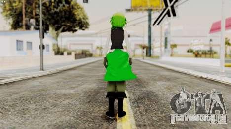 Gumi Love Is War (Vocaloid) для GTA San Andreas третий скриншот