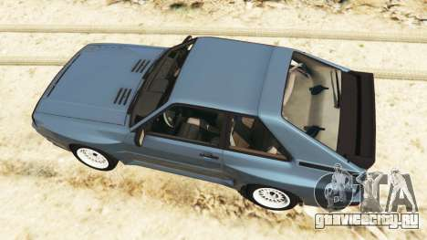Audi Sport quattro v1.1 для GTA 5 вид сзади