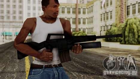 M16 from Delta Force для GTA San Andreas третий скриншот