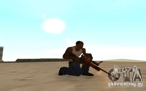 Nitro Weapon Pack для GTA San Andreas четвёртый скриншот
