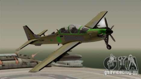 EMB-314 Super Tucano Factory USA для GTA San Andreas