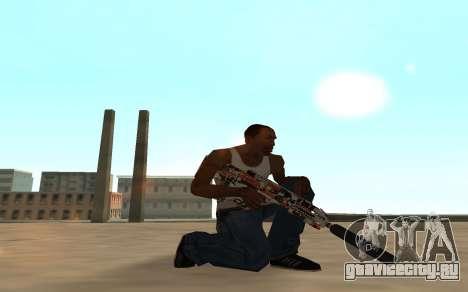 Asiimov Weapon Pack v2 для GTA San Andreas