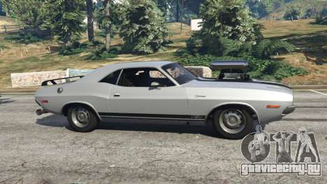Dodge Challenger RT 440 1970 v0.9 [Beta] для GTA 5 вид слева