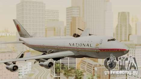 Boeing 747-100 National Airlines для GTA San Andreas