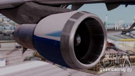 Boeing 747-400 Dreamliner Livery для GTA San Andreas вид справа