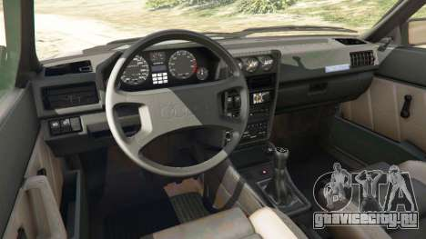 Audi Sport quattro v1.1 для GTA 5 вид справа