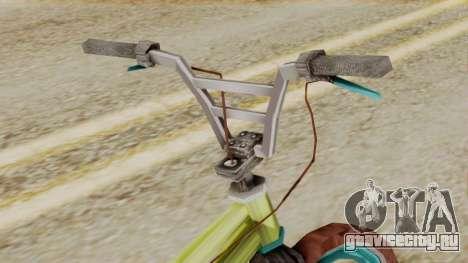 Crap BMX для GTA San Andreas вид справа
