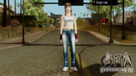 Dead Or Alive 5 Hitomi 1st Cos для GTA San Andreas второй скриншот