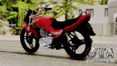 Yamaha YBR Imitacion для GTA San Andreas вид слева