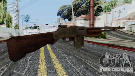 BAR 1918 from Battlefield 1942 для GTA San Andreas второй скриншот