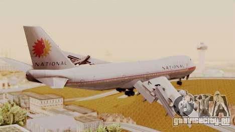 Boeing 747-100 National Airlines для GTA San Andreas вид слева