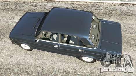 ВАЗ-2105 для GTA 5 вид сзади