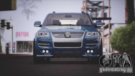 Volkswagen Touareg R50 2008 для GTA San Andreas вид слева
