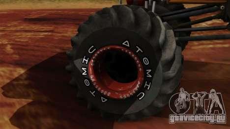 The Batik Big Foot для GTA San Andreas вид сзади слева