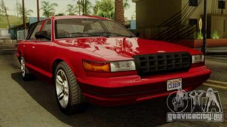 GTA 5 Vapid Stanier I IVF для GTA San Andreas