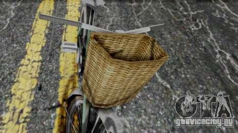 Olad Bike from Bully для GTA San Andreas вид сзади слева