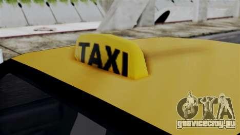 Taxi Casual v1.0 для GTA San Andreas вид сзади слева