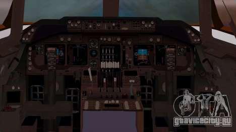 Boeing 747-400 Dreamliner Livery для GTA San Andreas вид сзади