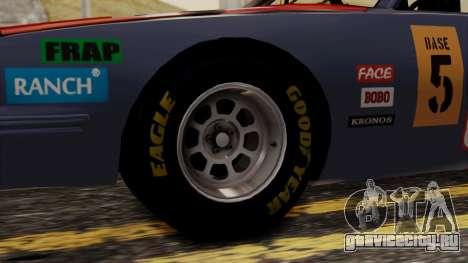 Pontiac GranPrix Hotring 1981 No Dirt для GTA San Andreas вид сзади слева