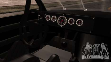 Pontiac GranPrix Hotring 1981 No Dirt для GTA San Andreas вид справа