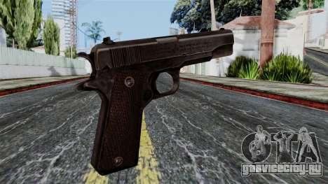 Colt M1911 from Battlefield 1942 для GTA San Andreas второй скриншот