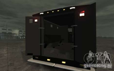 International 4000-Series SWAT Van для GTA 4 вид справа